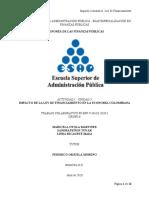 ARTICULO IMPACTO LEY DE FINANCIAMIENTO