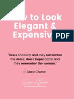 Elegancija, mala knjiga