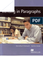 Writing in Paragraphs