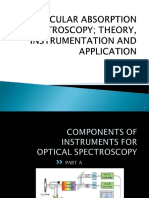 CHAPTER 2 (PART A) COMPONENTS OF INSTRUMENT FOR OPTICAL SPECTROSCOPY.ppt