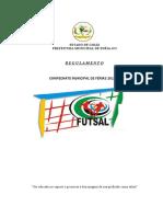 REGULAMENTO Futsal Feminino 2019-1