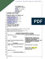 Nirvana v. MJI Motion for Summary Judgement