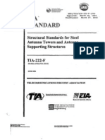 Structural Standards for Steel Antenna Towers and Antenna Supporting Structures