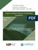 HSAC RP 162  Legacy Helidecks - 2nd Edition