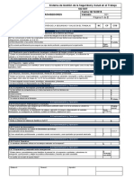 FT-SST-042 Formato Auditoría Interna