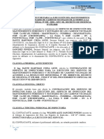 CONTRATO DE SERVICIO WILDER