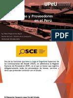 COMPRAS Y PROOVEDORES EN EL PERU