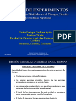 Diapositivas D. parcelas divididas en el tiempo, D. medidas repetidas