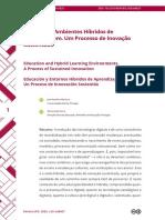 2- Educação e Ambientes Híbridos de Aprendizagem