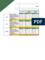 Cronograma de Inspecciones y observaciones