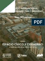 Concurso Internacional de arquitectura y urbanismo
