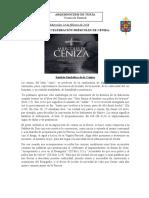 GUIÓN MIÉRCOLES DE CENIZA (Ciclo B)