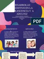 DESARROLLO COGNITIVO ADOLESCENCIA Y ADULTEZ