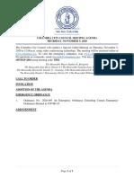 2020-11-05 Columbia City Council - Full Agenda