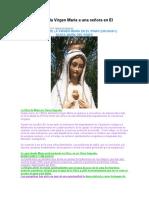 Apariciones de la Virgen María a una señora en El Pinarb