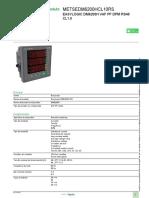 Medidor EasyLogic DM6x00H_METSEDM6200HCL10RS
