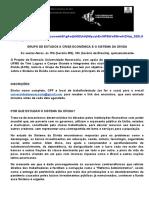 GRUPO DE ESTUDOS - Auditoria de Dívida - Fatorelli
