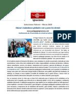 CVPI, 2020, Febrero-Marzo - Educar ciudadanos globales