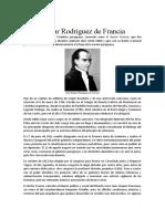 Biografia Dr. Francia