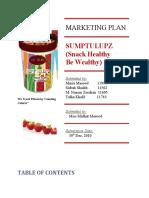 Marketing Plan of Sumptulupz (2)