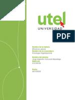 Ensayo Eficiencia Laboral Tarea 1 UTEL
