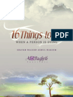 16 things to do with dying person
