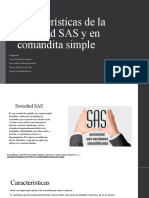 Gaes 3. Sociedad SAS y en comandita simple