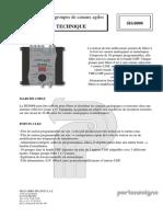 Especificaciones Amplificador antena