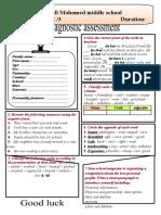 Diagnostic assessment by desert rose  2019