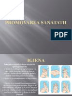 Promovarea sanatatii
