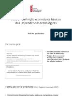 Aula 1 Definição e princípios básicos das Dependências tecnológicas