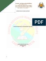 PROYECTO PREVENCION RIESGOS Y DESASTRES