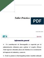 TALLER FINAL IMPOTERRITORIALES UNIAUTONOMA 2020 -2