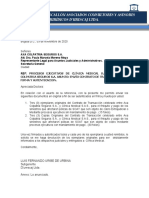 CARTA REMISORIA CONTRATO Y ACTAS DE CONCILIACION