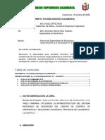 INFORME 16- SUPERVISOR ESPECIALISTA EN ELECTRONICA (Observaciones Valorización 7)
