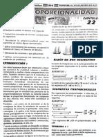 Geometria - proporcionalidad