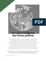 As Raizes Indígenas das Festas Juninas