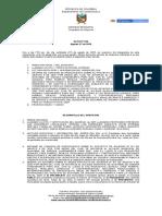 Acta N° 056 aprobacion de proyecto