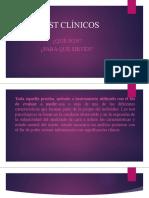 Test Clinicos