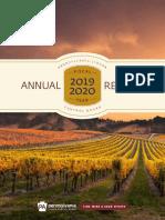 Pennsylvania Liquor Control Board Annual Report 2019-2020