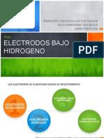 19  ELECTRODOS  bajo hidrogemmo LA LLAMA OXI