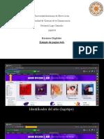 Ejemplo de pagina web Recursos Digitales