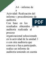 Taller Informe de Auditoría AA4