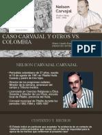CASO CARVAJAL Y OTROS VS