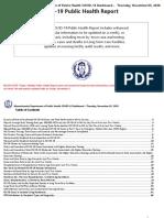 Weekly Covid 19 Public Health Report 11-5-2020