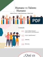Capital Humano vs Talento Humano