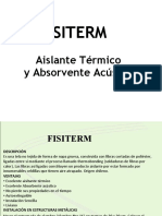 FISITERM. Aislante Térmico y Absorvente Acústico