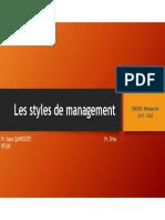 Styles de Management