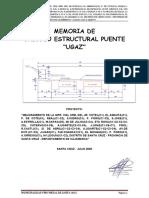 Memoria Estructural PUENTE UGAZ.pdf