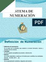 SISTEMA DE NUMERACION diapositivas